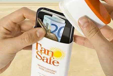 Футляр обманка от солнцезащитного крема