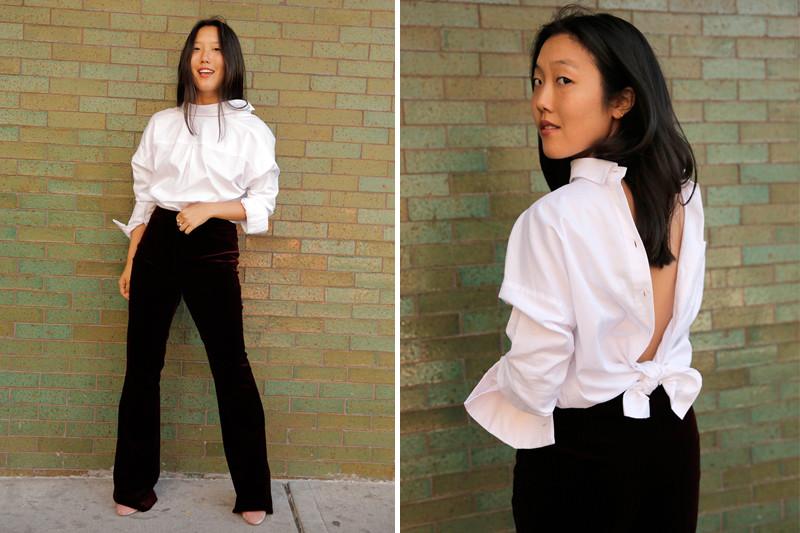 Надетые задом наперед рубашки новый тренд в моде